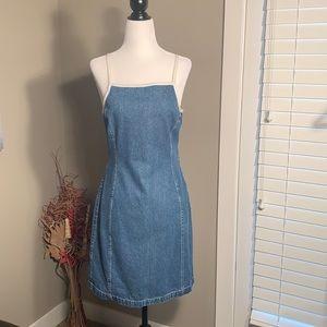 Tommy Hilfiger - Vintage Spaghetti strap denim dress
